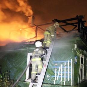 При пожаре на летней базе детского сада №6 в Ушково погиб человек