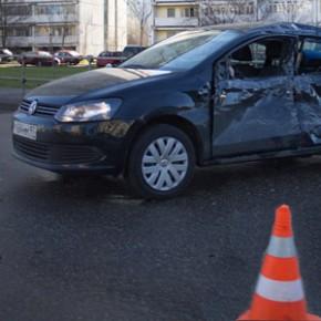 В ДТП в Московском районе пострадали две малолетние девочки