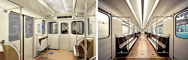 новые вагоны метро спб
