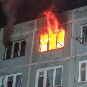 В жилом доме на улице Кржижановского произошел пожар с пострадавшим