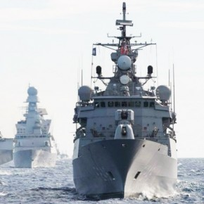 Корабли НАТО пришвартовались в Петербурге и ждут посетителей