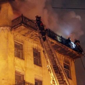 Из-за пожара на Рижском проспекте пострадал театр
