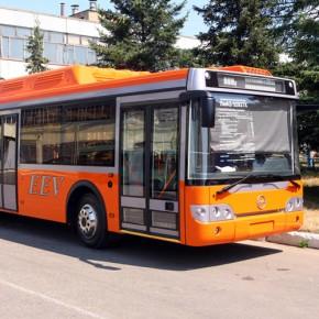 Еще 15 газовых автобусов заказаны для петербургских маршрутов