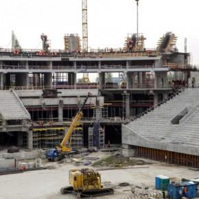 Новым подрядчиком стадиона