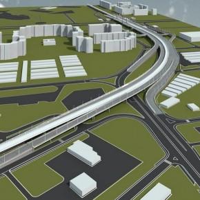Развязку Пулковского шоссе и Дунайского проспекта обещают к 2017 году