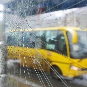 На проспекте Большевиков столкнулись два автобуса с пассажирами