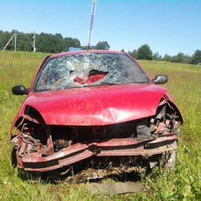 В ДТП на Московском шоссе под Тосно погибла 19-летняя девушка