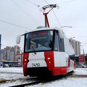 По проспекту Обуховской Обороны пустили трамваи