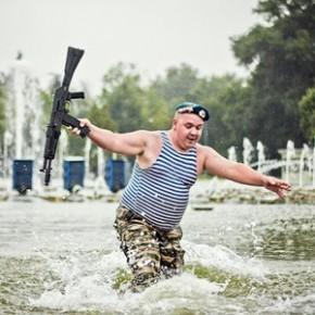 В Петербурге могут построить фонтан для купания десантников в День ВДВ