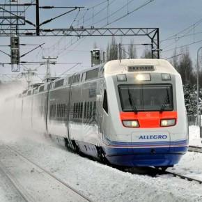 На новогодних праздниках РЖД запустит дополнительные поезда из Петербурга