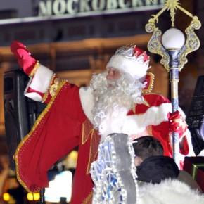 Традиционное шествие Деда Мороза по Петербургу пройдет 22 декабря