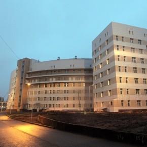 Новую инфекционную больницу на Репнинской откроют в сентябре 2014 года
