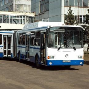 Газовые автобусы выходят на петербургские маршруты №50 и №56