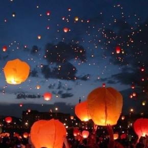 Небесные фонарики запретили запускать во всех городах России