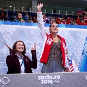 Женское фигурное катание: у Сотниковой - золото, Липницкая - пятая