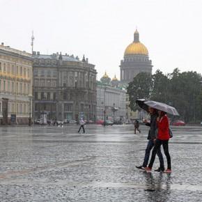 Петербург - самый пасмурный город России, самый солнечный - Хабаровск
