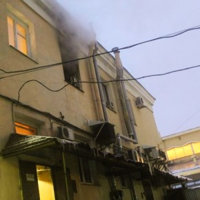 От пожара на Московском вокзале пострадало здание кассового зала