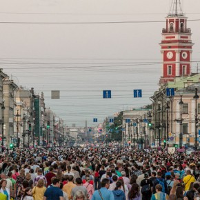 На Невском может появиться пешеходная зона выходного дня