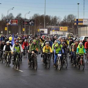 Открытие велосезона 2014 в петербурге