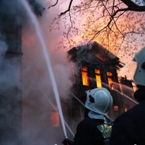 В Петербурге произошел пожар в городской психиатрической больнице №3