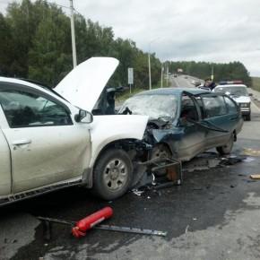 В массовом ДТП на Киевском шоссе с двумя грузовиками погибли двое
