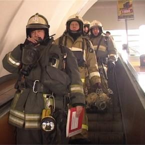 Пожар произошел в метро Петербурга на станции