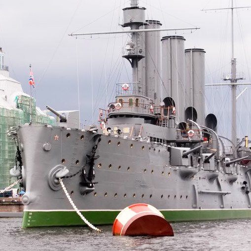"""Ремонт крейсера """"Аврора"""" продлится минимум до конца ноября"""