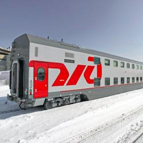 Двухэтажный поезд Москва - Петербург выйдет в рейс на замену плацкарту