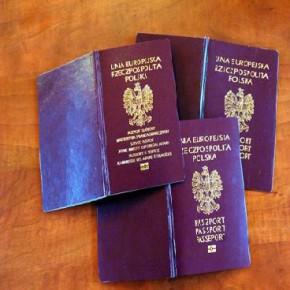 «На польский глядят как в афишу коза…» (Владимир Маяковский, «Стихи о советском паспорте»)