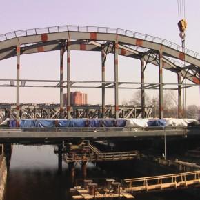 Открытие американских мостов на Обводном запланировано на декабрь 2012
