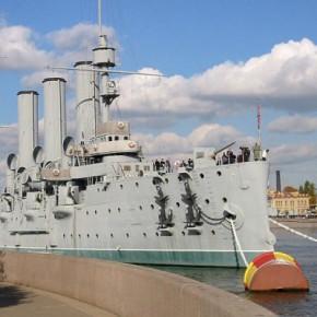 Аврора не будет официальным символом Петербурга