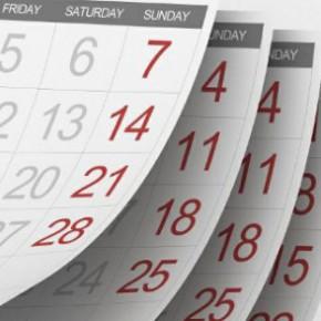 Утвержденный календарь на 2013 год с праздниками и выходными