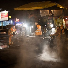 Ночной ремонт дорог могут разрешить