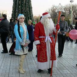 В Узбекистане хотят полностью отменить Деда Мороза и Снегурочку