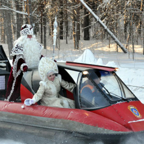 Стала известна окончательная программа встречи Деда Мороза 22 декабря