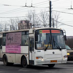 На водителя маршрутки К-165 напали во время движения