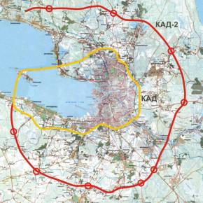 Областная администрация - против строительства второго кольца (КАД-2) вокруг Петербурга