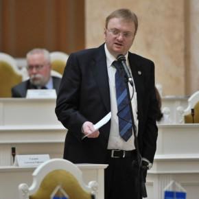 Петербуржцы потребовали отставки Милонова