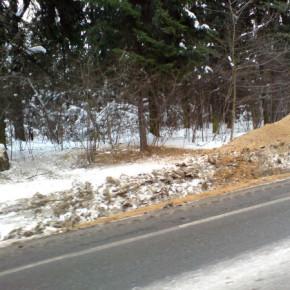 Связанную девушку нашли в сугробе на Кингисеппском шоссе