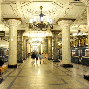 В топ-10 самых красивых станций метро Европы вошла питерская станция