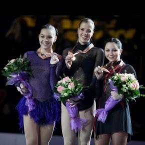 По результатам ЧЕ-2013 по фигурному катанию Россия завоевала 5 медалей