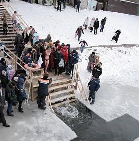 МЧС сообщило список организованных мест для крещенских купаний в Санкт-Петербурге