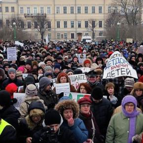 Митинги на Марсовом поле до 100 человек все-таки разрешили не согласовывать