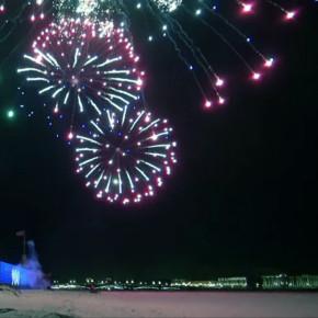День снятия блокады блокады завершили праздничным салютом (видео)