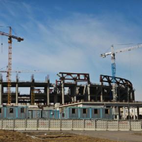 Строительство стадиона для