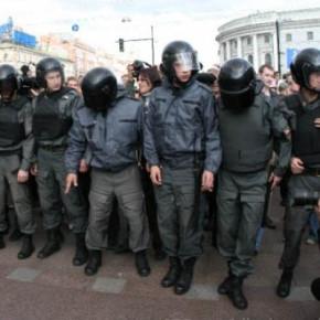 Активисты «стратегии 31» встретили 2013 год в отделении