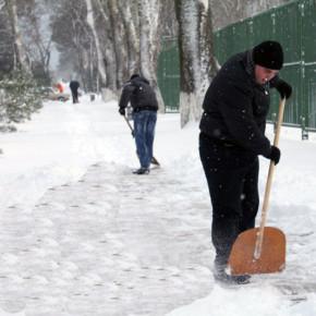 В Москве в борьбе со снегом использовали Photoshop