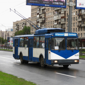 С 9 марта троллейбусы маршрутов 26, 27, 29 и 35 будут объезжать стройку на Славе