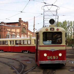 Все петербургские трамваи могут получить ретро-окраску
