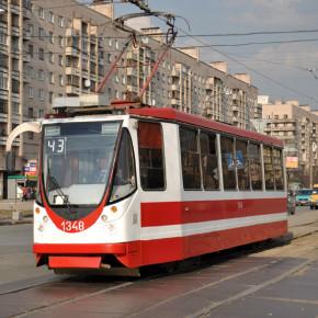 В Петербурге появились первые трамваи с Wi-Fi
